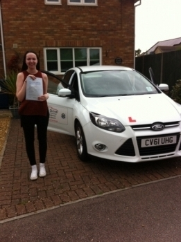 Congratulations to Emily from March who passed her test today. 16/09/15...